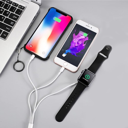 3-in-1 Apple iPhone & Watch Charger - White or Black