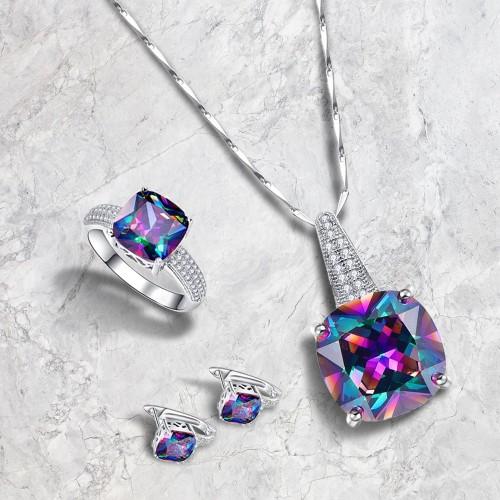 3 Piece Cubic Zirconia Jewelry Set