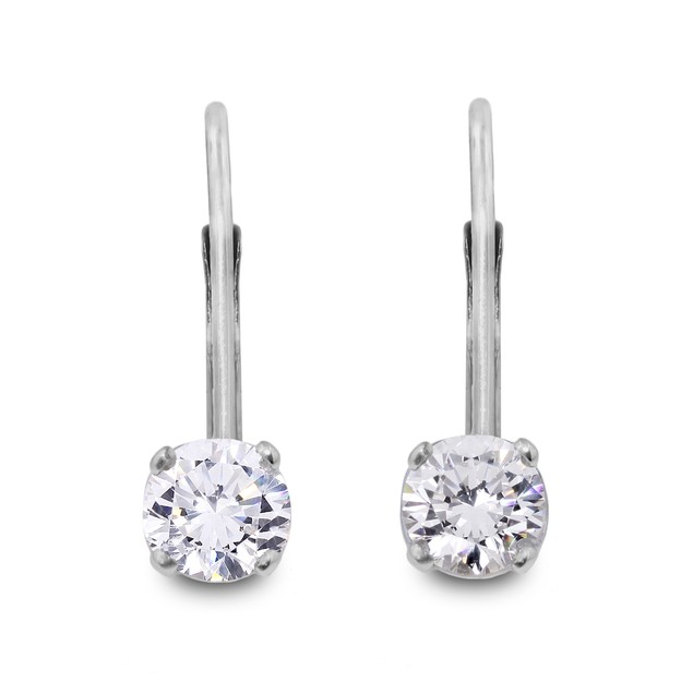 Diamond Drop Earrings 1/4cttw