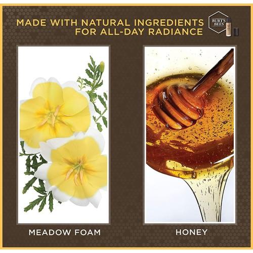 Burt's Bee Chestnut Goodness Glows Liquid Makeup (2-Pack)
