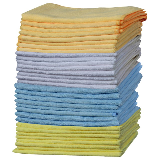 how to clean microfiber rags