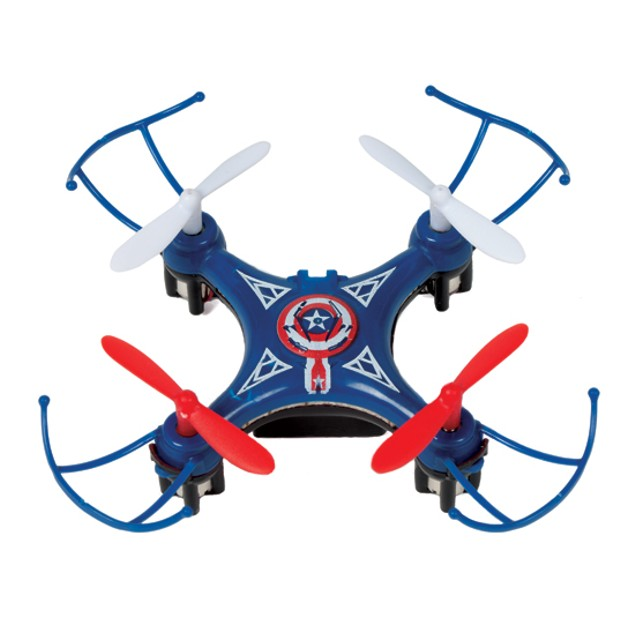 Marvel Avengers Captain America Micro Drone 4.5CH 2.4GHz RC Quadcopter