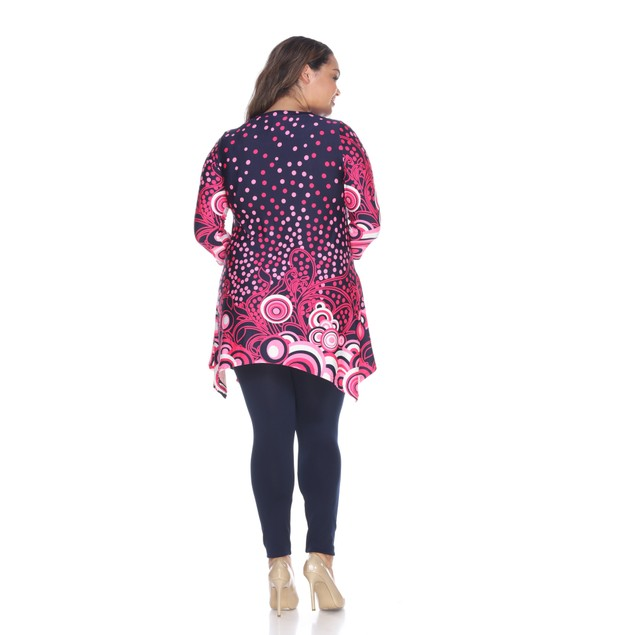 Plus Size Sigrid Tunic Top - 3 Colors