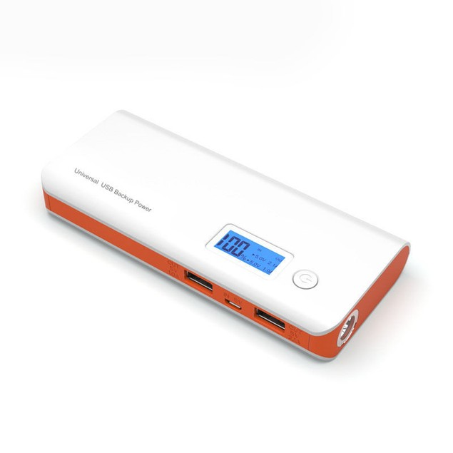 Portable Power Bank 2 USB 50000mAh External LCD LED Backup Battery Charger
