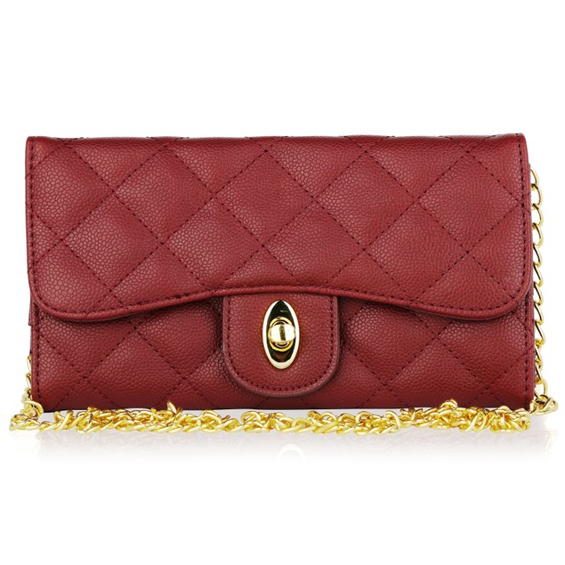 MKF Collection Jennifer Garner Large Quilted Wallet