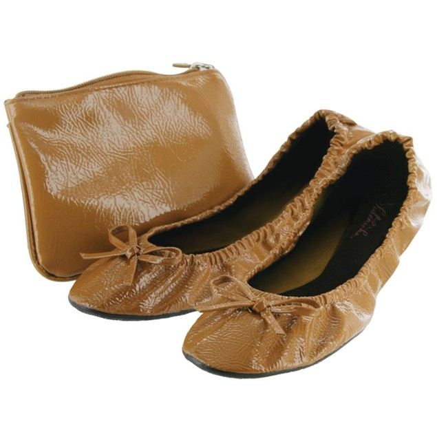 Sidekicks Women's Foldable Flats with Carrying Case