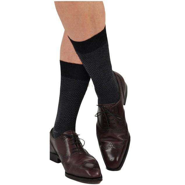 6 Pairs of Men's Classic Dress Socks