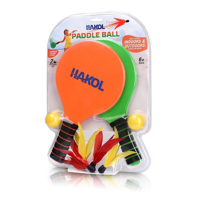 Premium Paddle Ball 2 Player Bundle