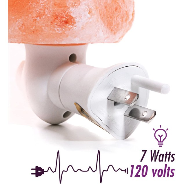 2 Pack The Himalayan Mini Crystal Salt Lamp That Enhances Every Ambient Mood