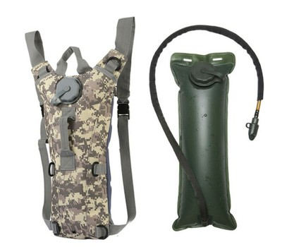 3L Water Bladder Bag Tactical Military Hiking Camping Hydration Backpack Outdoor Was: $39.99 Now: $23.99.