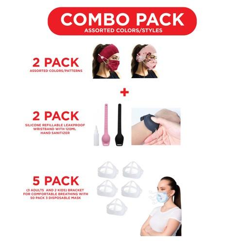 Coronavirus Combo Protection Pack