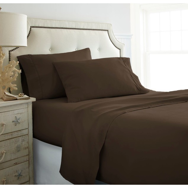 Merit Linens Ultra Soft 4 Piece Bed Sheet Set