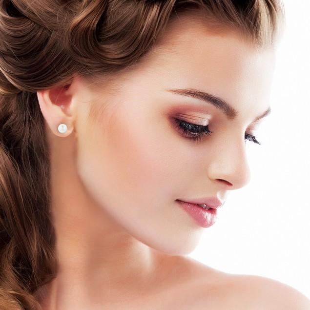 6mm Cultured Pearl Stud Earrings