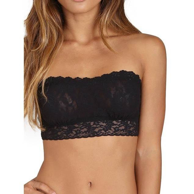 6-Pack Lace Tube Top Bandeau with Extended Sizes