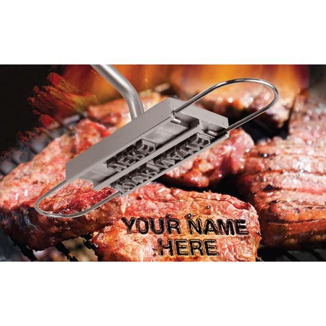 Customizable BBQ Branding Iron