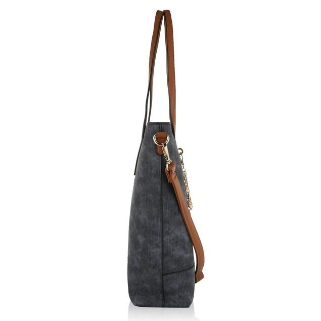 MKF Franny Vintage Wash Tote Shoulder Bag by Mia K.