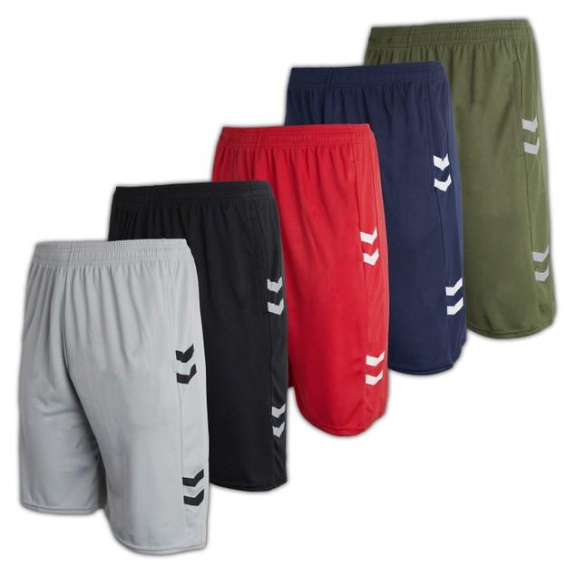5-Pack Men's Mesh Active Shorts (S-3XL)