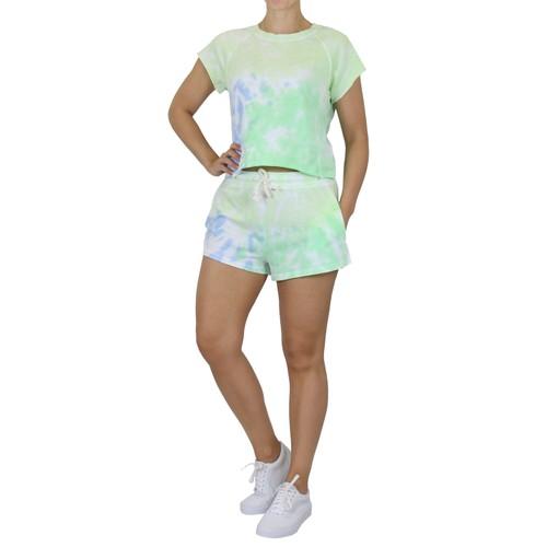 Tie-Dye Tee & Shorts Lounge Sets