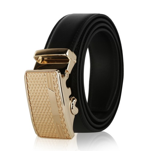 MKF Collection Desi Genuine Leather Belt for Men by Mia K.
