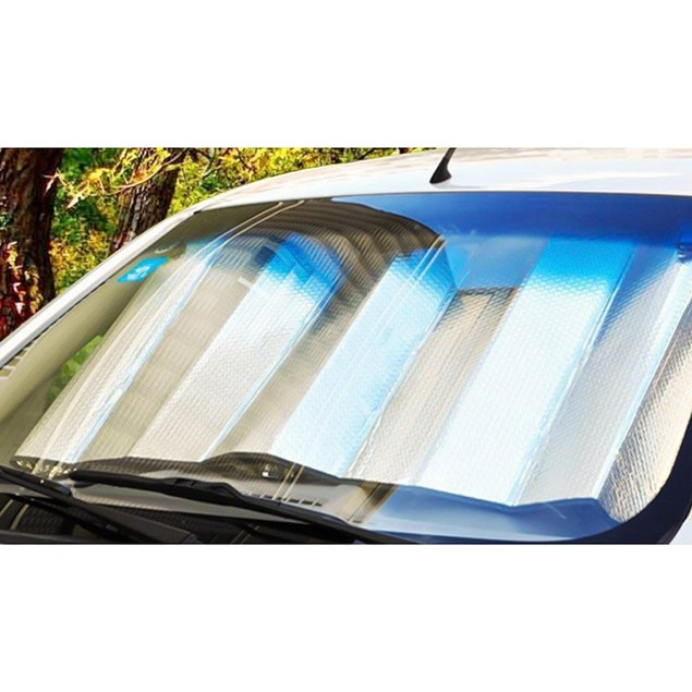 Zone Tech 6Pc. Car Front Rear Back Side Window Sun Shade Visor Covers