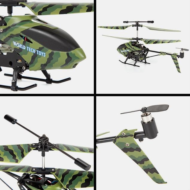 3.5 ch Camo Phantom IR Helicopter