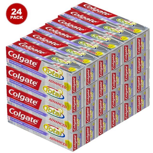 24 Pk: Colgate Total Advanced Gum Defense Anticavity Toothpaste