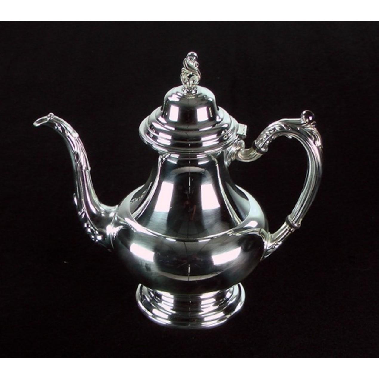 oneida silver teapot