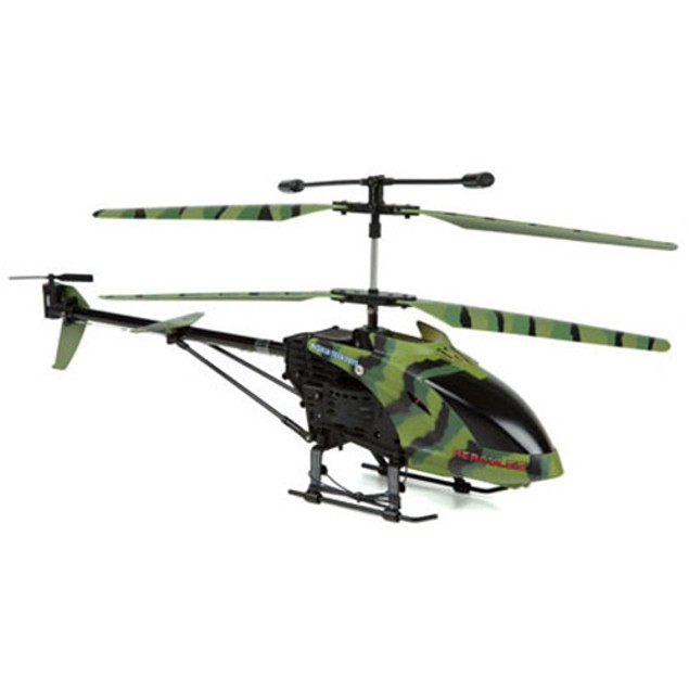 3.5 Ch Camo Hercules Unbreakable Remote Control Gyro Helicopter