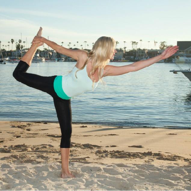 Charcoal Yoga Capri Pant