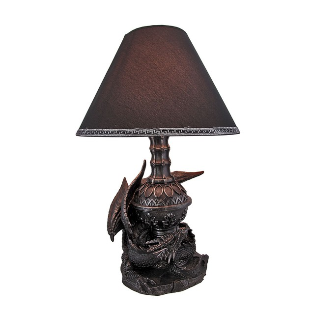 `Draco Awakens` Lying Dragon Lamp Accent Lamps