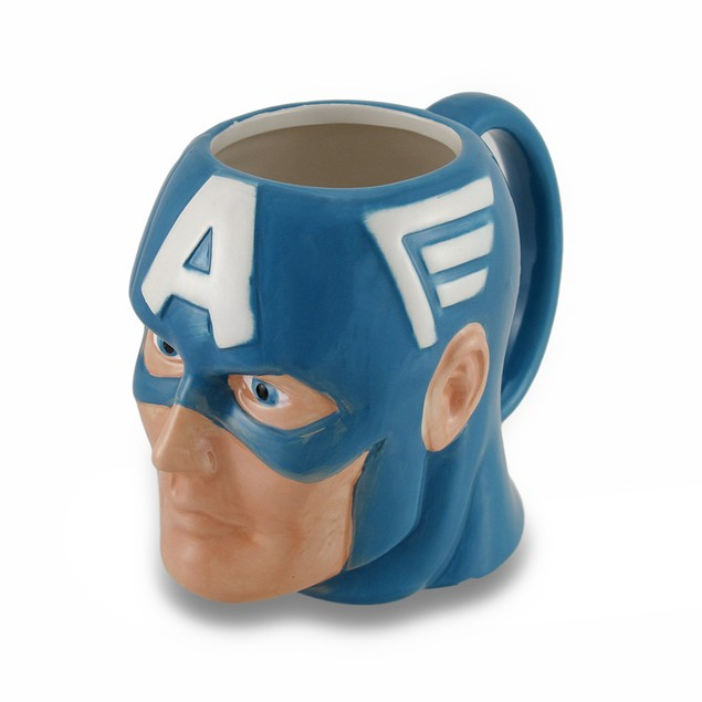 Marvel Comics Captain America Ceramic Coffee/Tea Novelty Coffee Mugs