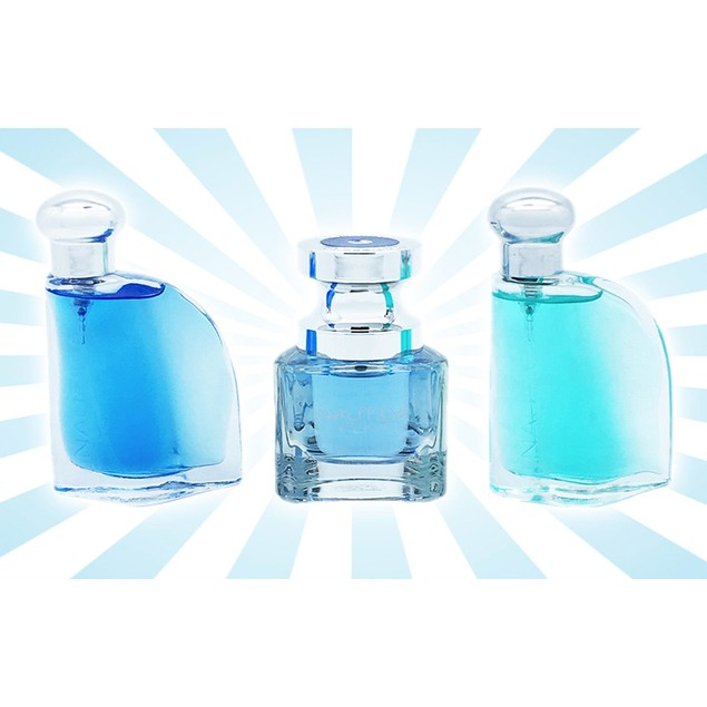Nautica Fragrances 3 Piece Set: Blue, Voyage and Classic EDT Spray 0.5 Oz