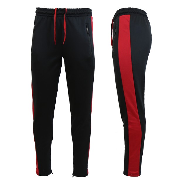 Men's Active Moisture Wicking Striped Joggers