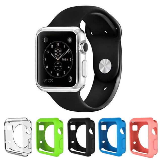 5-Pack Waloo Apple Watch Gel Cases