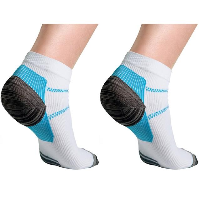 6-Pairs Unisex Compression Socks for Plantar Fasciitis