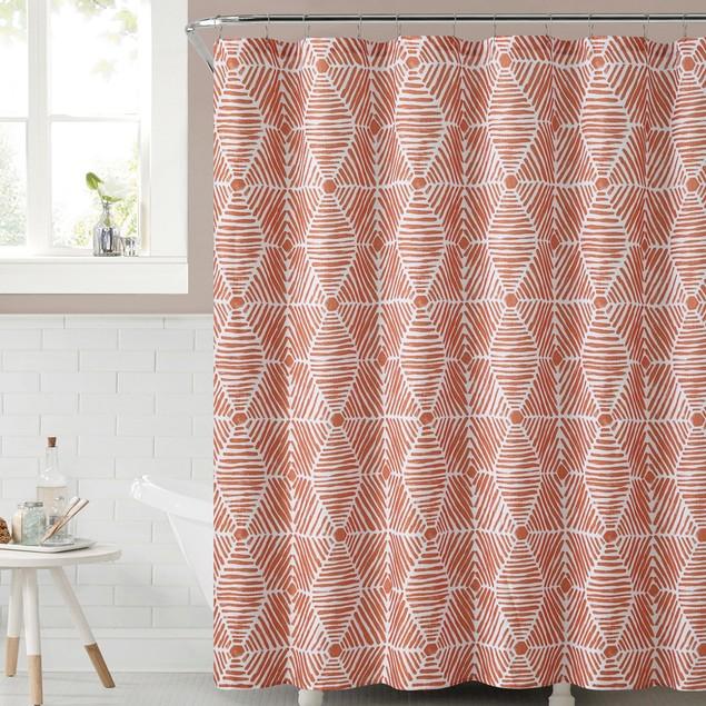 """Ruthy's Textile Sailcloth Shower Curtain 72""""X72"""""""