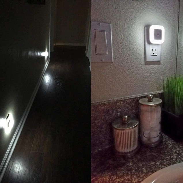 8-Pack LED Plug-in Night Light