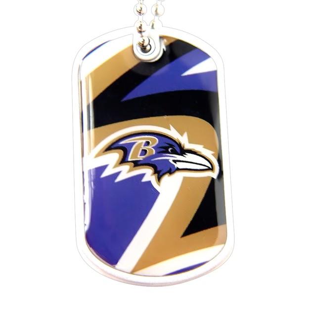 NFL Dynamic Dog Tag Necklace Charm Chain