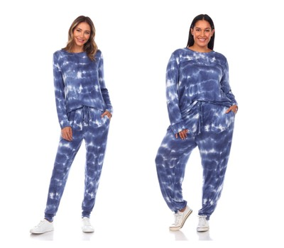 White Mark Universal Tie Dye Lounge Set - Extended Sizes Was: $62.99 Now: $29.99.