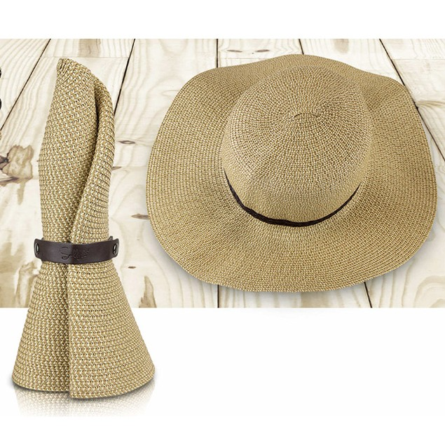 SunLily Roll-n-Go Packable Sun Hat