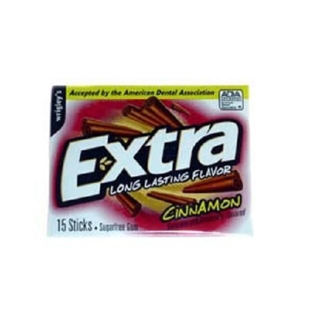 Extra Cinnamon Sugar Free Gum 3 Pack