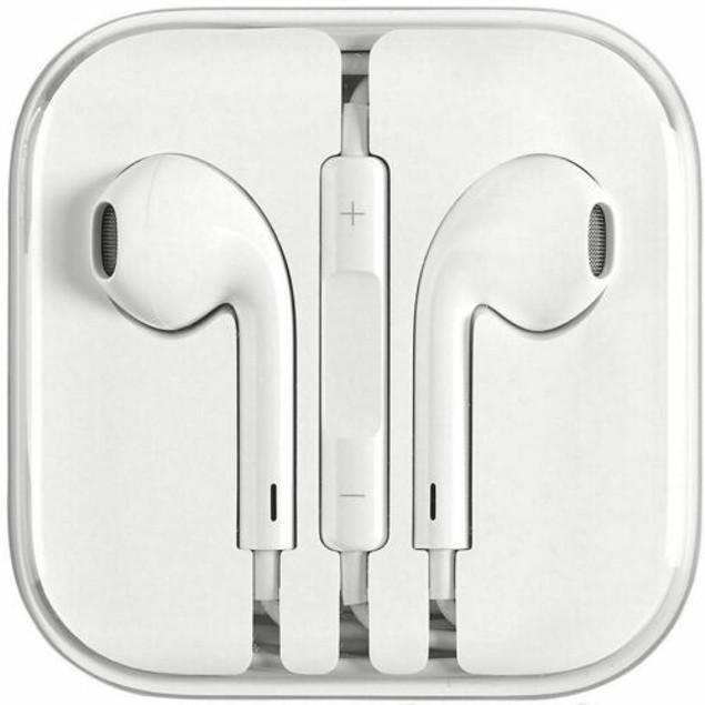 New Apple headset 3.5 MM- White