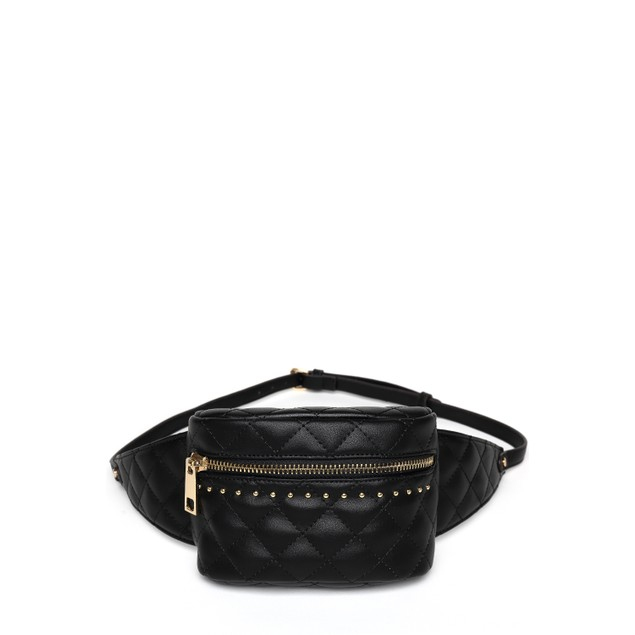 MKF Collection Camilla Quilted Belt Waist Bag by Mia K.