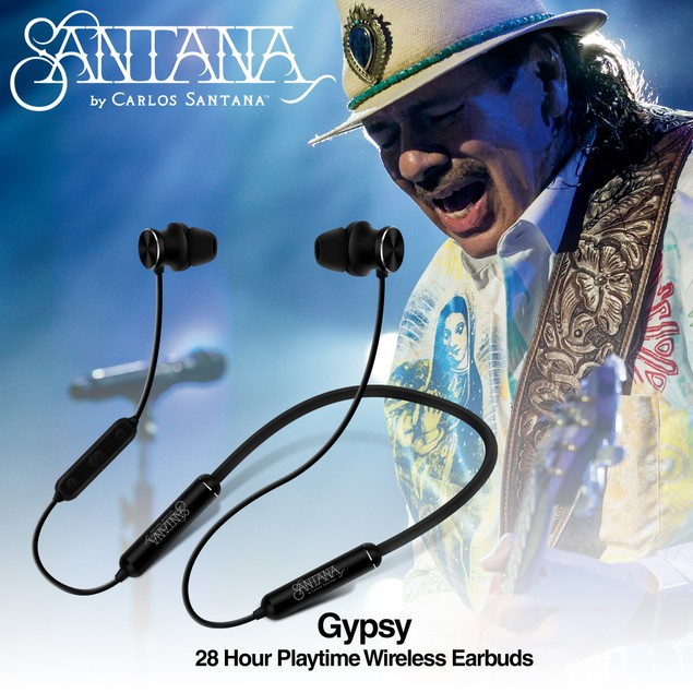 Gypsy by Carlos Santana 28 HRS Playtime in-Ear Headphones