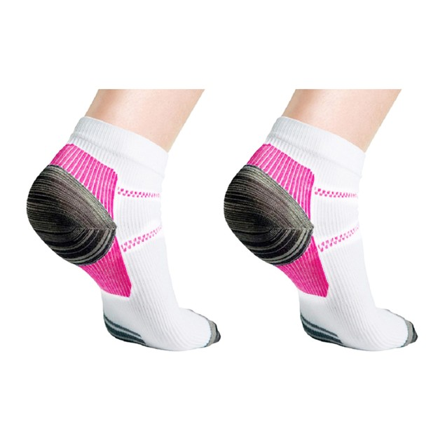 Unisex Ankle Compression Socks - Multiple Pack Options