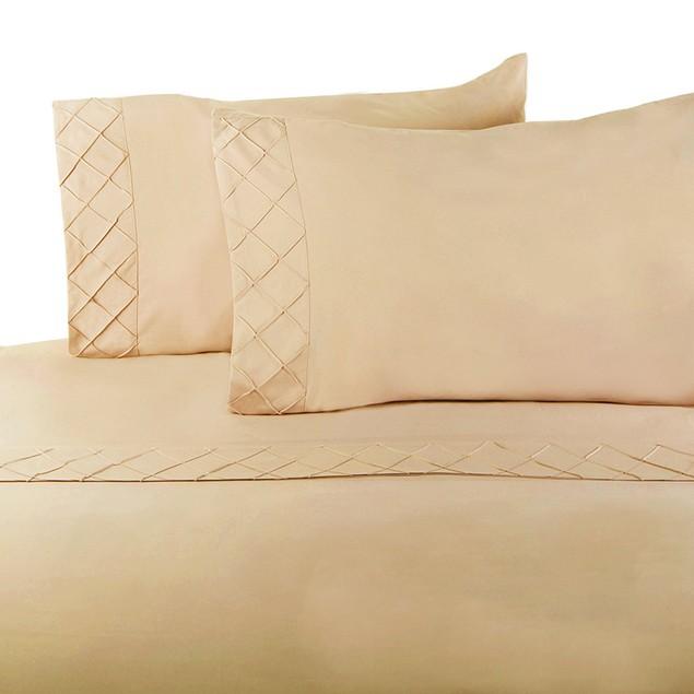 Forever Soft Collection Diamond Hem Ultra-Soft Sheet Set