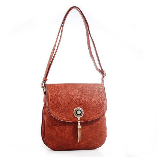 MKF Collection Isobel Saddle Double Compartment Cross Body Bag