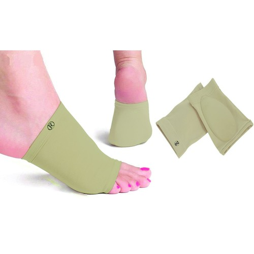 Gel-Infused Arch-Support Foot Sleeves