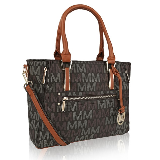 MKF Collection Siena M Signature Handbag by Mia K.