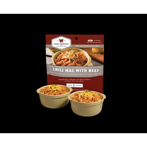 Wise Foods Outdoor Meals - 6-Pack Chili Mac with Beef